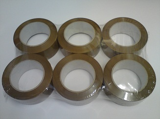 Economy Acrylic Buff Carton Sealing Tape