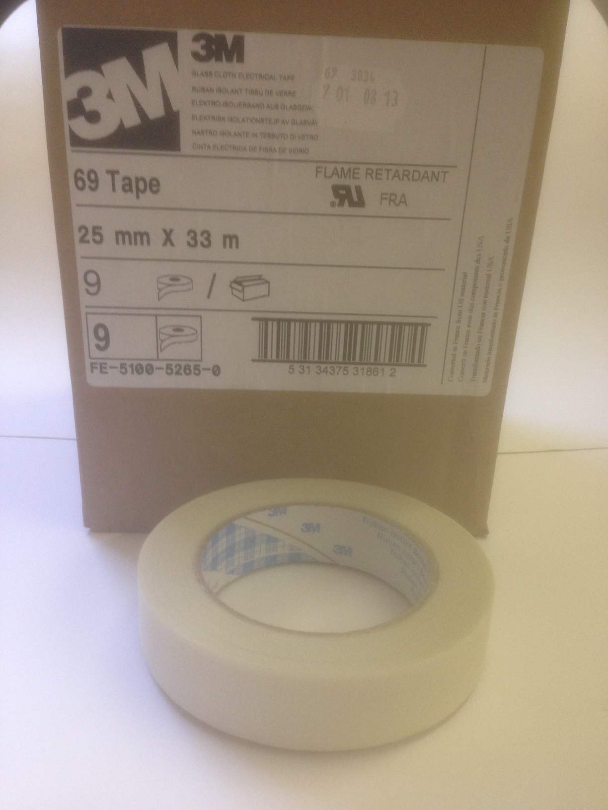 3M 69  Electrical Glass Cloth Tape