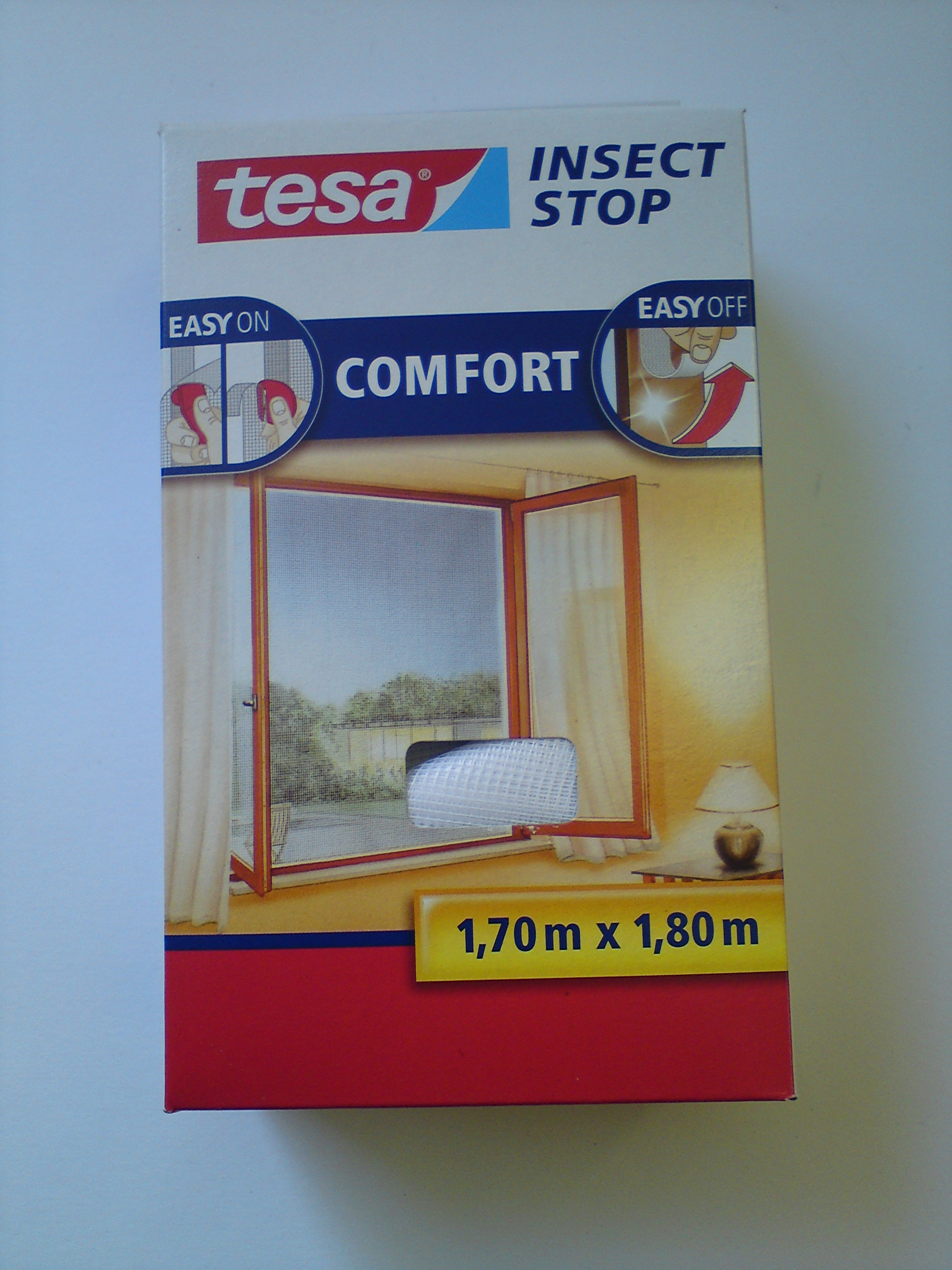 tesa insect stop inward window net. Black Bedroom Furniture Sets. Home Design Ideas