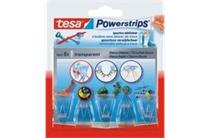 tesa® powerstrips® deco (clear) hooks